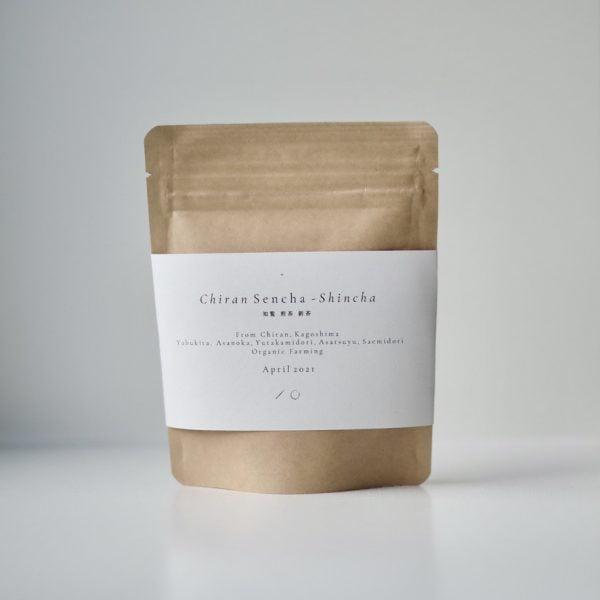 Chiran Sencha Shincha 2021 - Organic Japanese green tea
