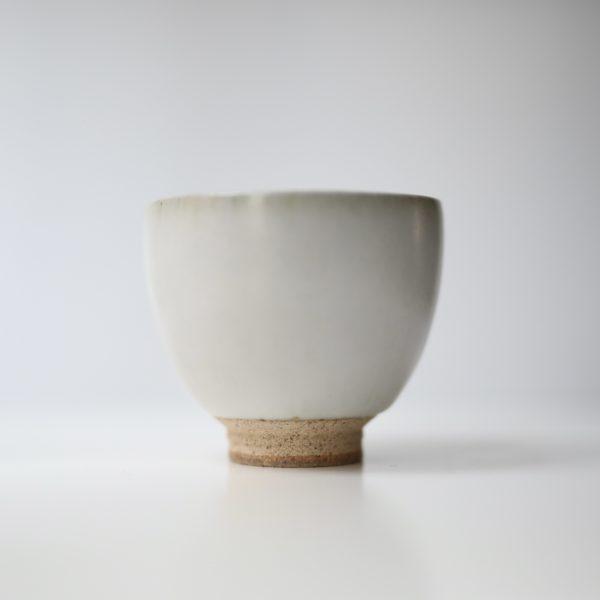 Seiryūgama tall Japanese teacup - Japanese ceramics