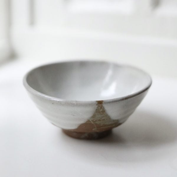 Hvid japansk Matcha teskål - kohiki chawan