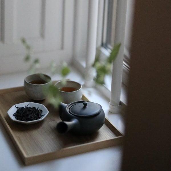 Yamazoe bancha served